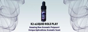 K2 e-liquid Incense Role Play 5ml